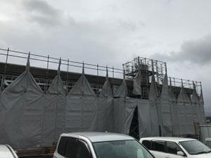 滋賀県 外壁回収工事 2017.10