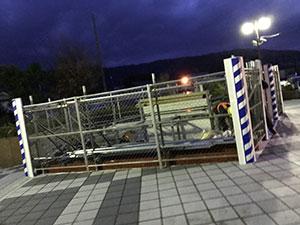 岐阜県 駅舎外壁改修工事 2017.11