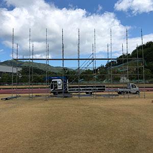 国体弓道場 2018.8